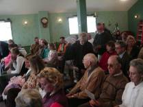 Guests at Fort Davidson Motel for Jack Longacre Service